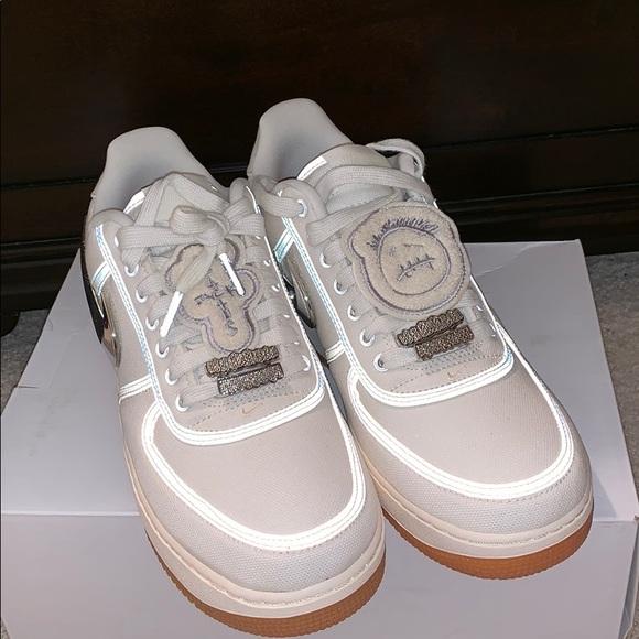 8edc9180619eb Nike Shoes | Travis Scott Air Force 1 Sail | Poshmark